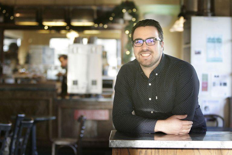 JJ Reynolds In A Coffee Shop