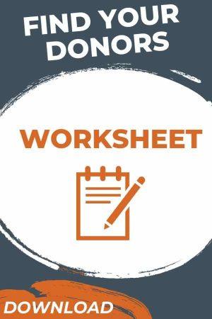 Donor Identification Worksheet